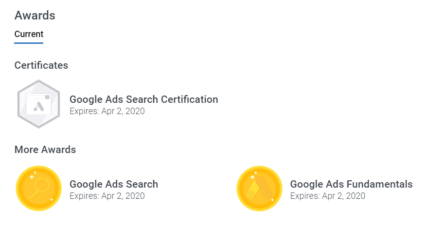 certified adwords